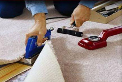 Carpet Removal and Re-installation